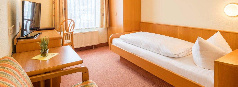 Einzelzimmer Landhotel Alte Mühle Ostrach
