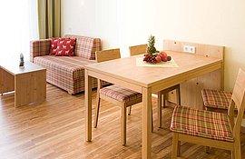 Appartement Erlenbach Wohnbereich - Landhotel Alte Mühle Ferienregion Nördlicher Bodensee
