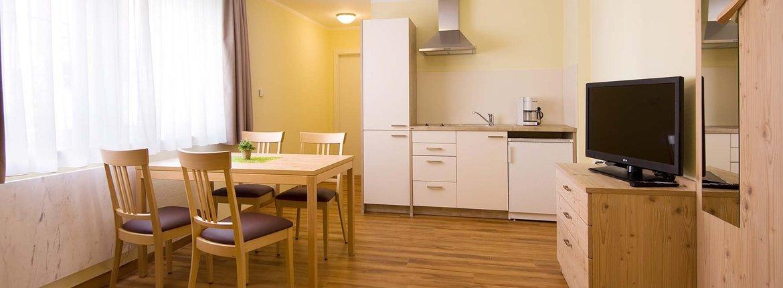 Appartement Hagnau Wohnzimmer 170 + 176 - Landhotel Alte Mühle Ferienregion Nördlicher Bodensee
