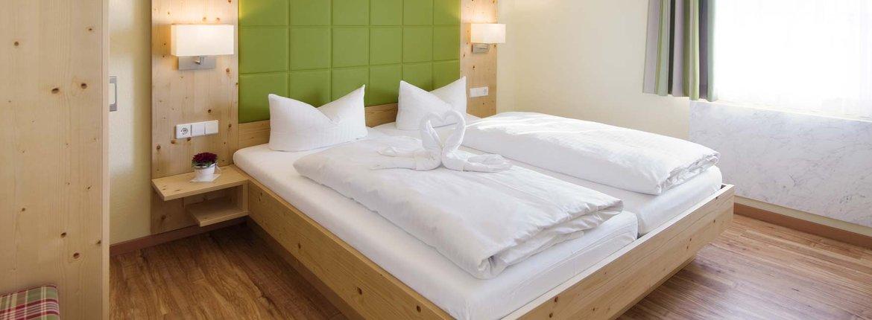 Appartement Erlenbach Schlafzimmer - Landhotel Alte Mühle Ferienregion Nördlicher Bodensee