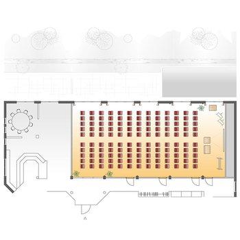 Seminarraum Riedblick - Theaterbestuhlung