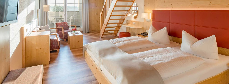 Galeriezimmer Honiggras Landhotel Alte Mühle Nördlicher Bodensee