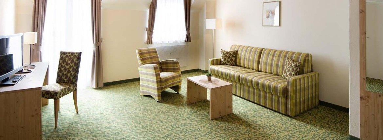 Suite Eulenbruck Wohnbereich - Landhotel Alte Mühle Ferienregion Nördlicher Bodensee