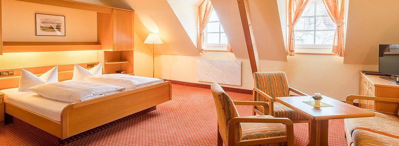 Doppelzimmer Komfort - Landhotel Alte Mühle Ferienregion Nördlicher Bodensee